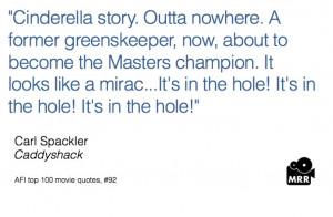 caddyshack, movie quotes
