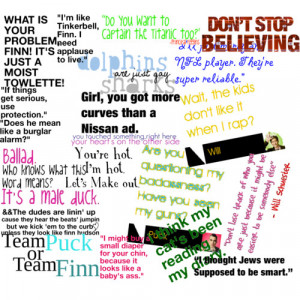 Glee Quotes:) - Polyvore
