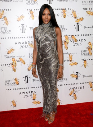 Naomi Campbell Picture 136 2015 Fragrance Foundation Awards Red