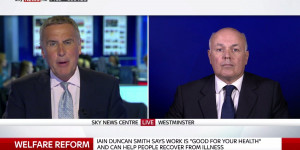 Iain Duncan Smith Says Fake Benefit Quotes 'Nothing To Do With' Him
