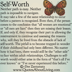 Self Worth - Paths to Self Worth 3/3