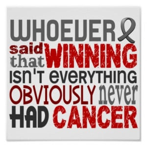 Fight Brain Cancer Quotes