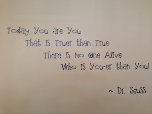Our office is full of positive, inspiring quotes to motivate us and ...