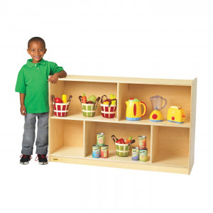 Angeles AVL1355B Angeles® Value Line™ Birch Mobile Preschool Shelf