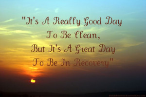 It's a really good day to be clean, but it's a GREAT day to be in ...