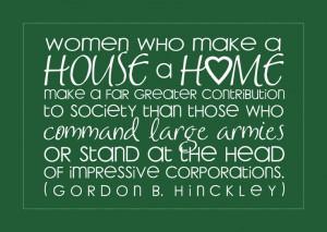 Love Gordon B. Hinckley quotes!