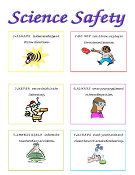 Science Safety Posters Picture