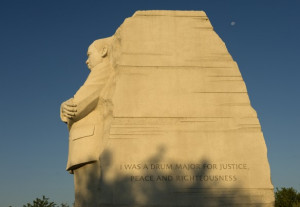 Correcting the Martin Luther King memorial mistake