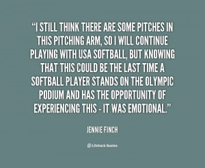 Motivational Softball Quotes Jennie Finch