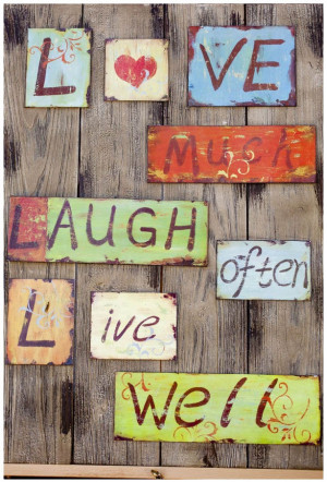 Love Much, Laugh often from Paris