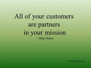 Business/Customer Service Quote