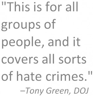 Statewide changes in hate-crime reporting