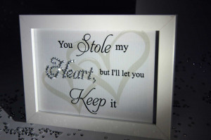 Stole My Heart, But You Can Keep It, Sparkle Word Art Pictures, Quotes ...