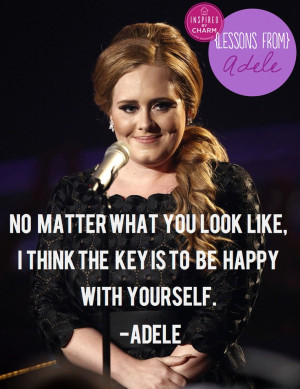 LOVE LOVE LOVE Adele's spirit, talent & this cool new