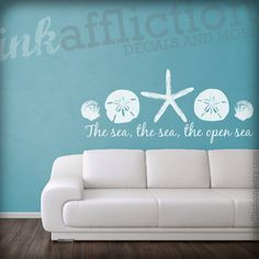 Awesome for a beach house. :) Check out her shop: inkaffliction on ...