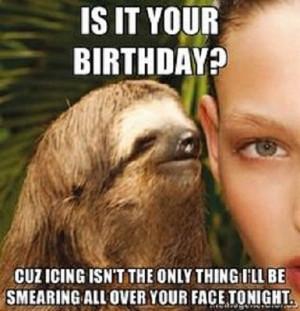 happy birthday animal meme