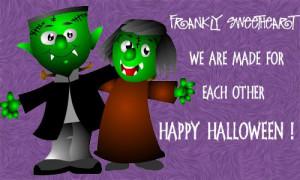 Halloween Love Cards, Free Halloween Love eCards