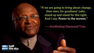 Feminism Archbishop Desmond Tutu