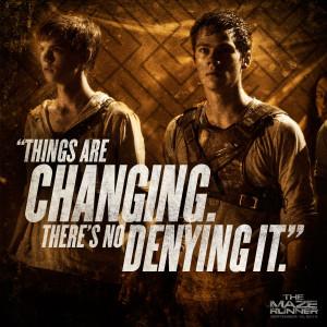 The Maze Runner Movie Quote