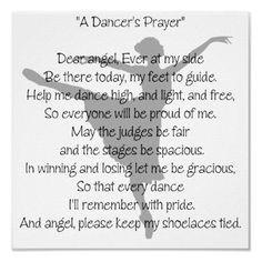 Dancer's Prayer