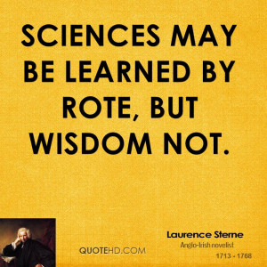 Laurence Sterne Wisdom Quotes