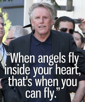 Inspiration is Gary Busey: