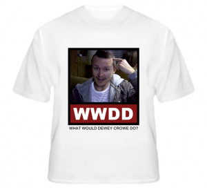 What Would Dewey Crowe Do WWDD Justified T Shirt