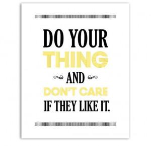 Tina Fey Quote 30 Rock Liz Lemon Typography Print by PopArtPress