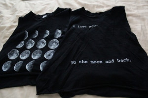black moon phases i love you quote on it t-shirt muscle tank moon ...