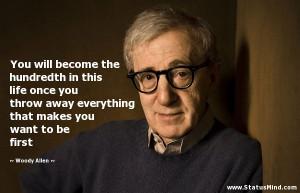 Woody Allen Speaks Everything Love Kootation