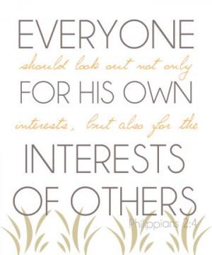 Amen!!!! Philippians 2:4 // Quote // Scripture // Inspirational Quote ...