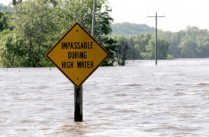 Mississippi Floodwaters in Iowa