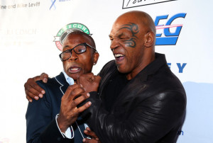 in this photo mike tyson tommy davidson actoredian tommy davidson