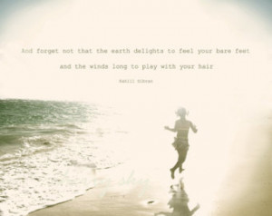 Your Toes Beach Quotes...