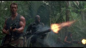Arnold Movie Predator Still Schwarzenegger Bill Duke Wallpaper with ...