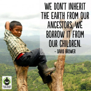 Truth. Another world is possible. Protect our earth.