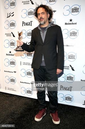 News Photo Director Alejandro Gonzalez Inarritu winner of