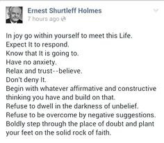 quotes by ernest holmes | Ernest Holmes More