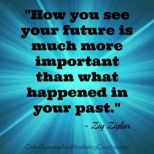 How you see your future is much more important than what happened in ...