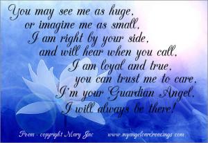 guardian angel poem mini my guardian angel guardian angels poems