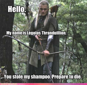 For all you Legolas fangirls out there...