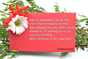 Merry Christmas Love Quotes For Her and Him
