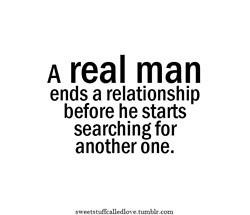 need me a real man