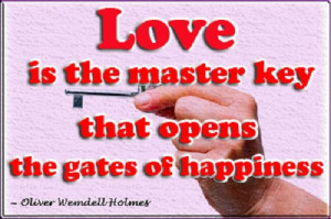 quotes about love and keys