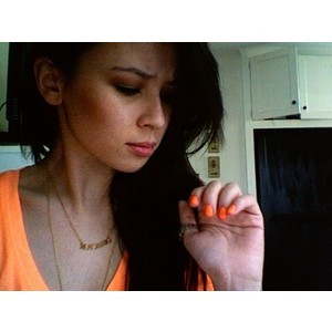 Malese Jow Gets Kiss From