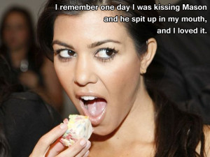 Kourtney gives advice to Kim who lost one of her earrings.
