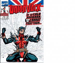 This is probably my favorite cover featuring Union Jack as drawn by ...