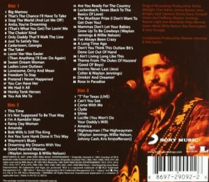 Waylon Jennings Song List