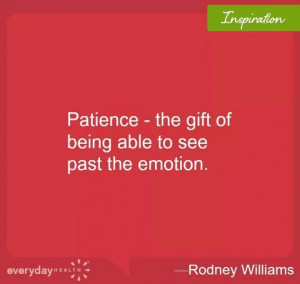 Have Patience
