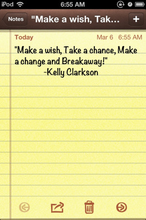 Kelly Clarkson quote